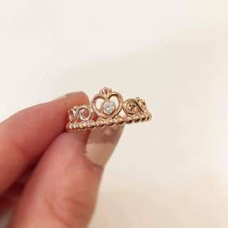 Pandora Rose Tiara ring