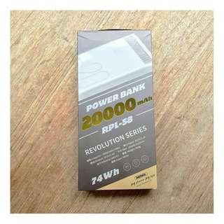 Power Bank 20000mah RPL-58