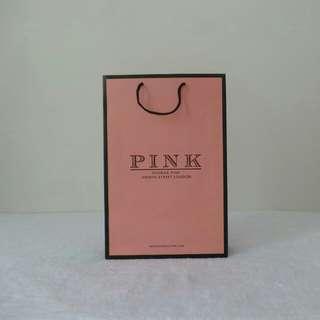 Thomas Pink Paper Bag