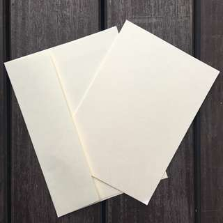40 Ivory Cards and Envelopes