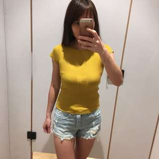 BN Yellow Mustard Knit TOP