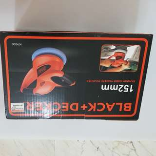 Black & Decker KP600. Polisher. 152mm. USED 3 TIMES. NOW HAVE NEW CAR. SO SELL