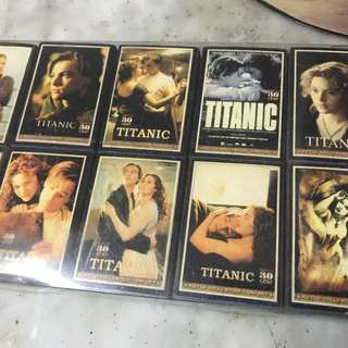 Titanic limited edition collectors matchsticks