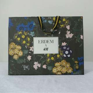Erdem X H&M Paper Bag