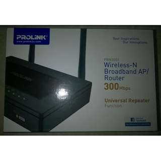 Wireless 300Mbps Broadband Router