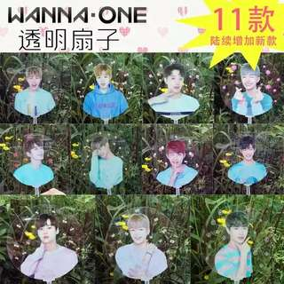 Wanna One Transparent Fan