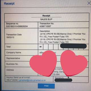 Order for IPU album Batch 1 ✅