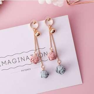 Livia Rose Drops Korean inspired Earrings