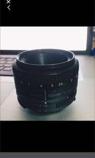 Nikon 50mm 1.8D Lens