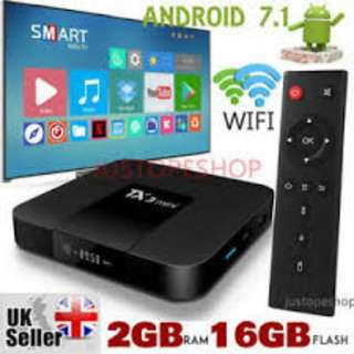 4k 64bit Android TV Box (2gb,16gb)