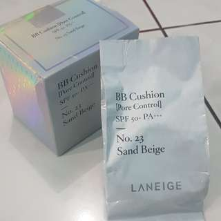 Refill Laneige BB Cushion Pore Control No.23 Sand Beige