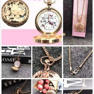 ⌚HELLOKITTY NECKLACE WATCH⌚