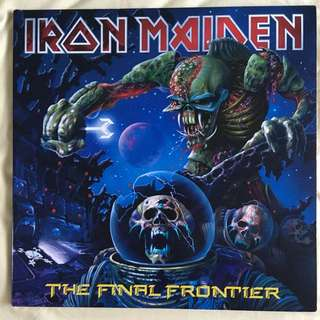Iron Maiden - The Final Frontier Limited Edition Picture Discs