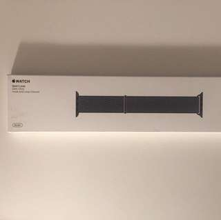 Apple Watch 38mm Dark Olive Sport Loop Band