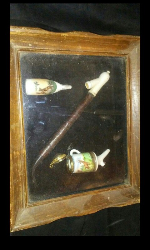 1920 German pipe set