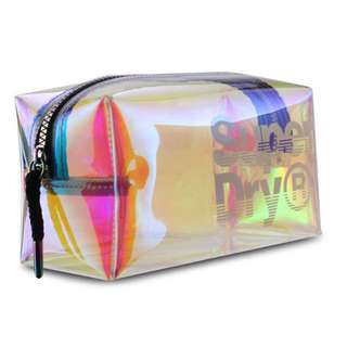 Holographic Superdry Pouch