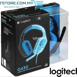 電腦專業耳機🎧 Logitech G430 Gaming Headset