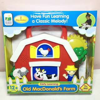 Musical Baby Toy Old Mcdonald