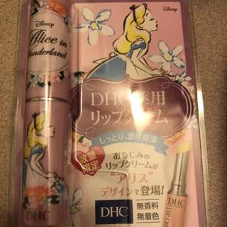 DHC Alice in Wonderland lip balm