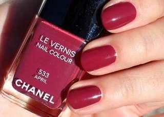 Chanel april polish