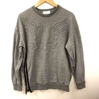 3.1 Phillip Lim gray eagle sweater size S