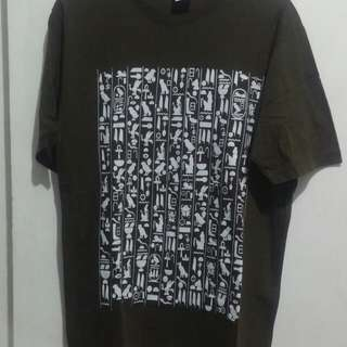 olive green tshirt from egypt