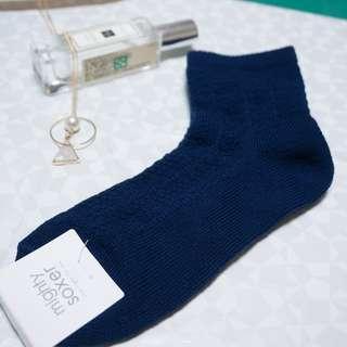 日本福袋 深藍色短襪