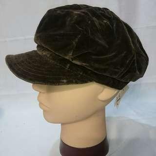🚚 Liz claiborne 老帽 鴨舌帽 藝術帽 個性帽 造型帽 棒球帽 黑帽