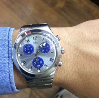 Swatch Irony stainless steel v8