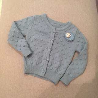 Baby blue colour Cardigan