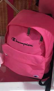 💓🎒💓日本限量版Champion Pink Backpack 💓🎒💓