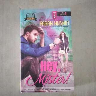Hey, Mister! (Malay Novel).