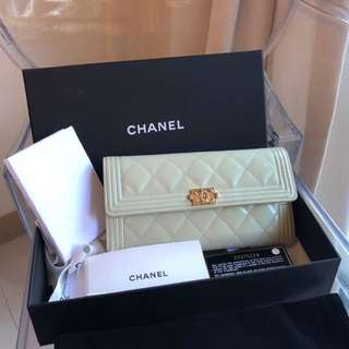 Boy Chanel Flap Wallet
