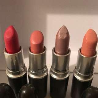 Bundle of MAC Lipstick