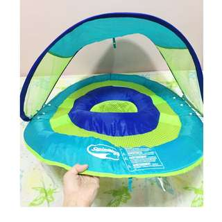 Baby Floater with Canopy (used once)