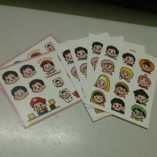 JIN FA STICKER