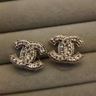 Authentic Chanel Earrings (Unused)