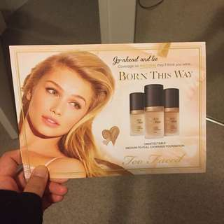 Too Faced Born This Way Foundation Sample