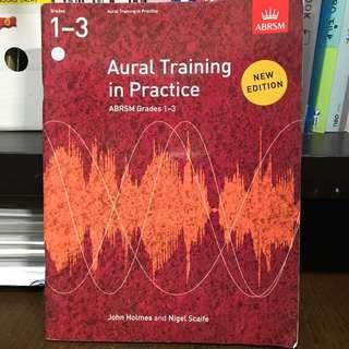 Aural Training in Practice Grade 1-3 (No markings)