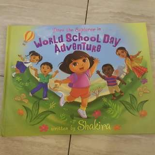 Dora the explorer world school day adventure