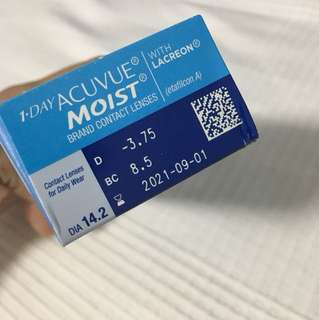 1-Day Acuvue Moist 3.75
