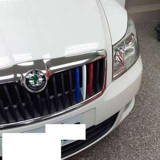 【騰信車體包膜】Octavia Combi 三色線包膜