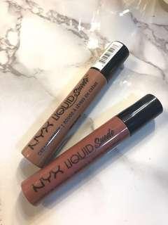 2 for $10 NYX liquid suede lipstick