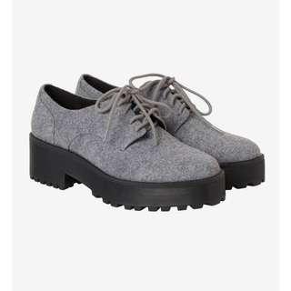 Monki Platform Lace Up Oxford Shoes