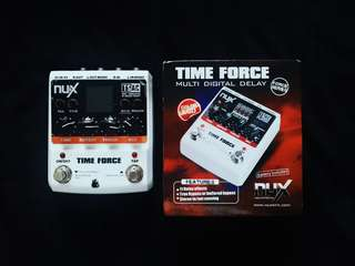 NUX TIME FORCE DELAY PEDAL (DEFECTIVE)