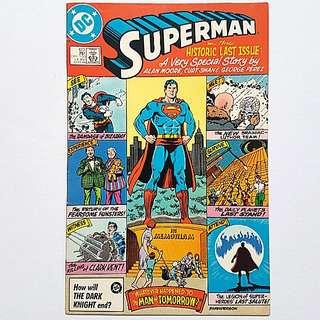 DC Comics Superman 423 Very Fine / NM Condition Alan Moore Story