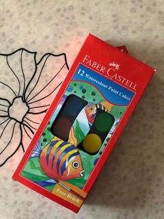 Faber Castell Watercolour Paint Tablet (Multicolour)