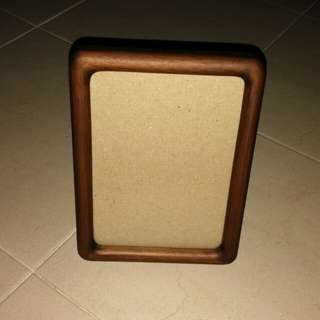 CLEARANCE!! Wooden 5R Photo Frame (Size 5 × 7cm)