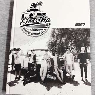 GOT7 'GOTCHA' PERFECT GETAWAY IN LA PHOTOBOOK