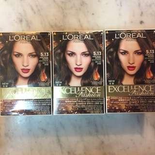 L'Oreal BNIB 3 X Boxes Hairdye